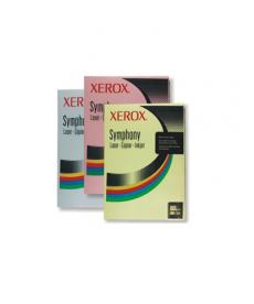 Carton color pastel A4 Xerox Symphony, 250 coli/top, 160 g/mp