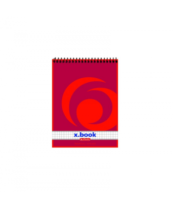 Bloc notes A6 cu spira Herlitz 50 file