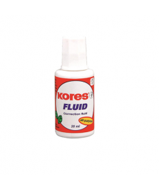 Fluid corector Kores 20ml, aplicator cu pensula