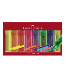 Text marker 1-5mm Faber Castell 1546 set 8 culori