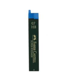 Mine creion mecanic 0,7 Faber Castell SuperPolymer, 12 mine/etui