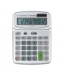 Calculator birou Q-Connect 15758 140x180mm 12 digit
