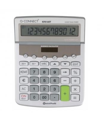 Calculator birou Q-Connect 01607 154x205mm 12 digit
