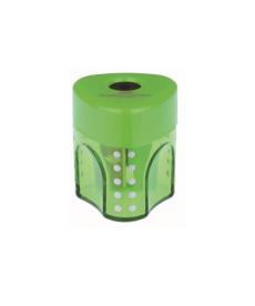 Ascutitoare Faber Castell Grip Pastel simpla cu container