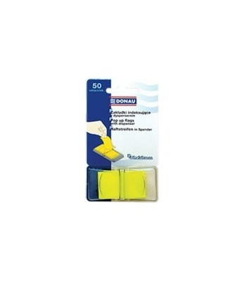 Index plastic Donau 45 x 25 mm cu dispencer