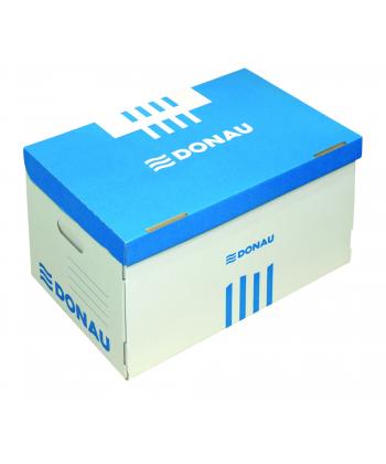 Container colector Donau alb-albastru