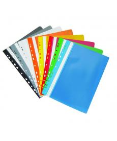 Dosar plastic A4 cu multiperforatii – Exclusiv