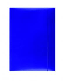 Mapa din carton color cu elastic