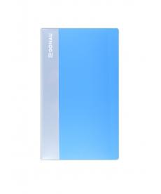 Clasor din plastic pentru 120 carti de vizita