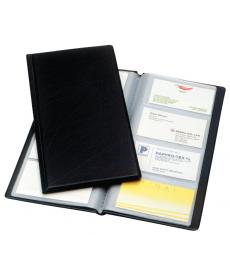 Clasor carti vizita A4/2, 128 carti de vizita