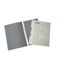 Dosar carton incopciat 1/1 cu gheara A4 alb