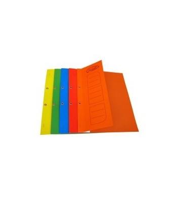 Dosar carton incopciat 1/2 cu capse A4 color
