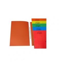 Dosar carton incopciat 1/1 cu capse A4 color