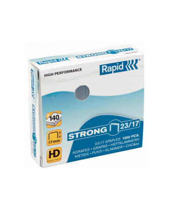 Capse profesionale 23/17 - 150 coli RAPID Strong