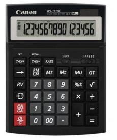 Calculator Canon W-1610T, solar, ecran rabatabil, 16 digits