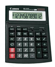 Calculator Canon WS-1210T, solar, ecran rabatabil, 12 digits