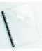 Coperti indosariat plastic transparent cistal A4, 150 microni, 100 bucati/set