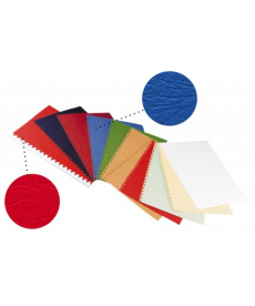 Coperti indosariat carton imitatie piele A4, 230g/mp, 100 coli/set